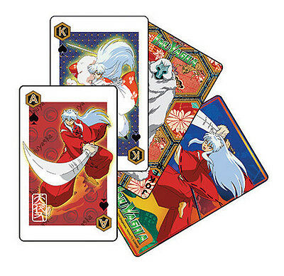 InuYasha Official Genuine Playing Cards *NEW*
