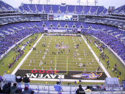 Baltimore Ravens vs Tampa  Buccaneers December 16, 2018 Lower Level Section 142