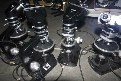 Lot of (6) Microscopes---(2) American Optical Sixty and (4) Nikon #719124