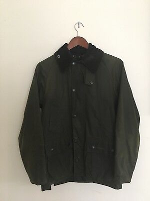 Mens Barbour Jacket Bedale Model Size 32 (small) PLUS Barbour Zip-In Liner Vest