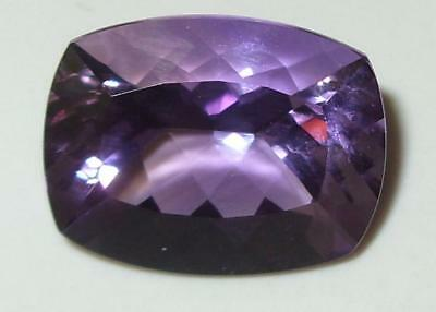 9.14ct Stunning Natural Bolivian Blended Ametrine Cushion Cut 16x12mm SPECIAL