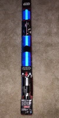 Star Wars Anakin/Darth Vader Electronic Color Change Ultimate FX Lightsaber New!