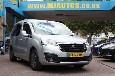 2015 65 Peugeot Partner 1.6 Tepee Active Horizon S Wheelchair Accessible Vehicle
