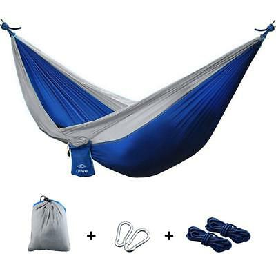 Camping Hammock Comfortable Lightweight Portable For Outdoor Hiking Travel Beach