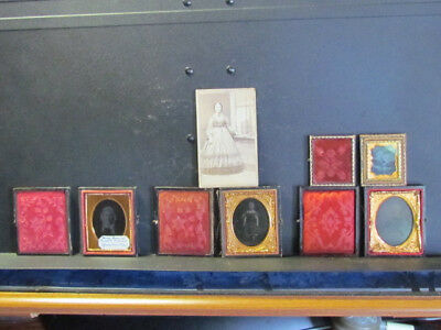 Holland family of Massachusetts ambrotype & other photographs