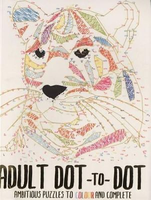 NEW Adult Dot-to-Dot By North Parade Publishing Colouring / Connect the Dot Book