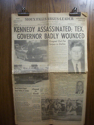 #560  Asst. Vintage Newspapers - Jfk, Maps, A Time To Remember 1963 - 1991
