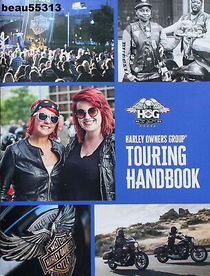 2018 35th HARLEY OWNERS GROUP HOG TOURING MEMBERSHIP HANDBOOK BROCHURE