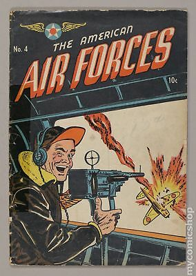 American Air Forces #4 1945 GD 2.0