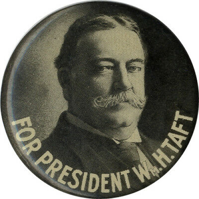 1908 William Howard Taft for President Campaign Pinback