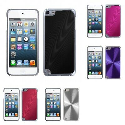 For Apple iPod Touch 5th 6th Gen Aluminum Armor Cosmo Slim Hard Case Phone Cover