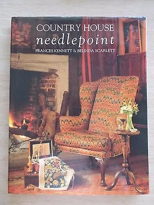 Country House Needlepoint~40+ Projects~From Britain's Stately Homes, Castles~H/B