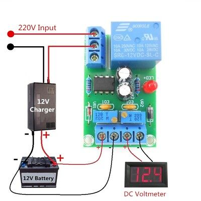 Intelligent Charger Module Power Control Board Automatic Charging and Power Off