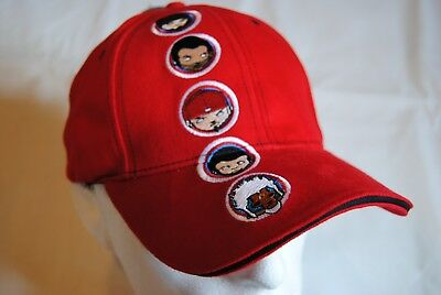 Limp Bizkit Embroidered Faces Red Baseball Cap Bnwt Official Significant  Other e1cf383125db