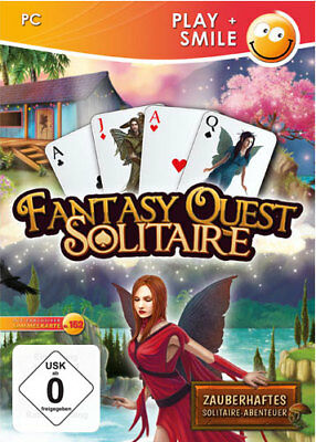 Fantasy Quest Solitaire  (Play+Smile)      PC       !!!!! NEU+OVP !!!!!