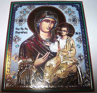 Christian Orthodox  Icon, Mother Of God Iverskaya