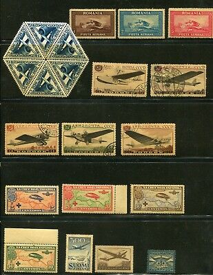 Airmails Mint & Used Selection