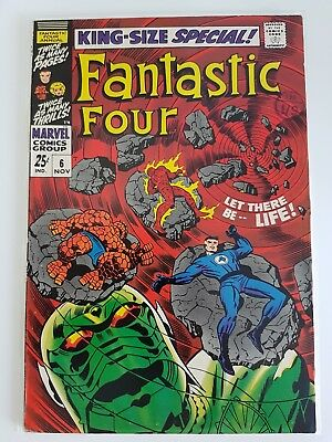 FANTASTIC FOUR ANNUAL #6 1968 1st ANNIHILUS and FRANKLIN RICHARDS  APPEARANCES!