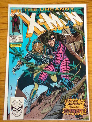 X-Men Uncanny #266 Marvel 1St Full App Gambit Scarce August 1990
