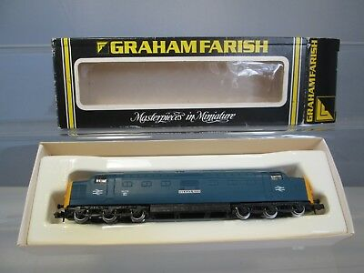 Graham Farish N Gauge 8415 Class 55 Deltic 'The Black Watch' BR Blue