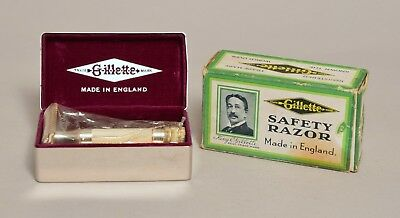 Really Nice Unused Vintage Gillette '88' Safety Razor With Box!