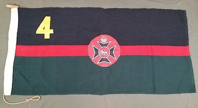 Rhodesian 4th Regiment NOT REPRO, 100% AUTHENTIC, Correct Bush War flag. Selous