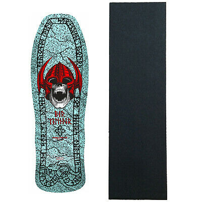 Powell Peralta Skateboard Deck Welinder Nordic Skull Blue RE-ISSUE W/Grip