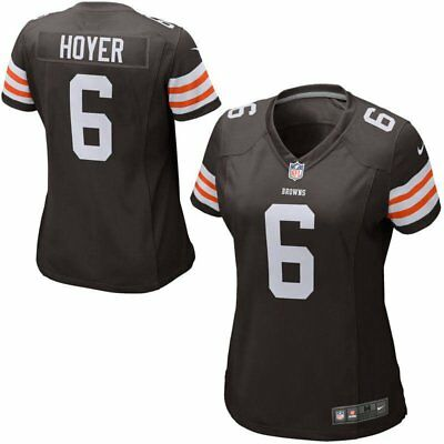 Top NEW NIKE Cleveland Browns #6 Brian Hoyer NFL Jersey Men's S $100