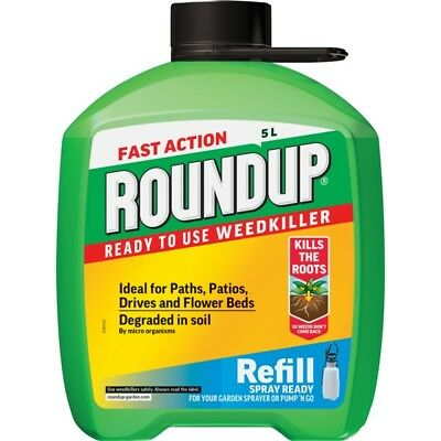 Roundup Fast Acting Pump N Go Refill, 5l