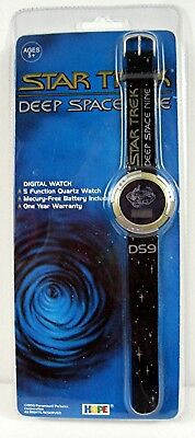 1993 Star Trek Deep Space Nine Digital Quartz Watch Old Store Stock
