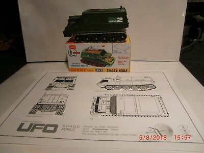 Dinky Toys 353 Ufo Shado 2 Mobile Gerry Anderson 1970's Tv Ufo