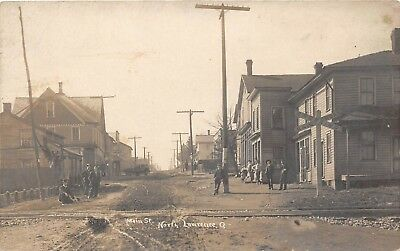 LP70   North Lawrence  Ohio Real Photo Vintage Postcard RPPC