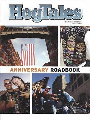 HOG Tales Harley Magazine 2008 Roadbook 2008 Anniversary Roadbook Nov Dec 2008