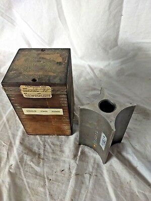 Brown & Sharpe 559 Toolmakers Surface Plate Cylinder Machinists Square