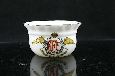 Royal Flying Corp Willow Art Crested Frilled Bowl