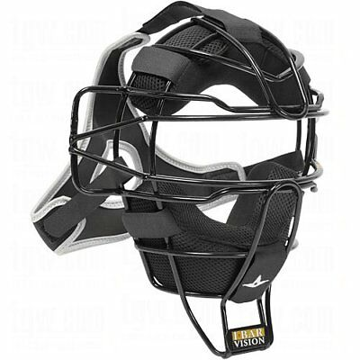 All-Star FM25LUC Black Traditional Ultra Cool Catcher's Face Mask Baseball