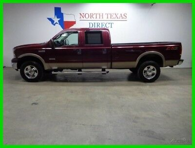 Ford F-350 Lariat 4WD Long Bed Leather Heated Seats 6.0L Dies 2005 Lariat 4WD Long Bed Leather Heated Seats 6.0L Dies Used Turbo 6L V8 32V