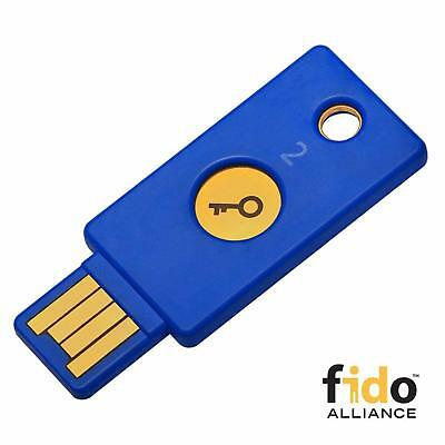 Security Key Two-Factor Authentication Cryptography U2F FIDO2 Compatible