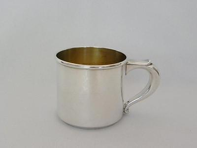 Sweet Wallace Sterling Silver Childs Baby Cup Mono 79.9 grams