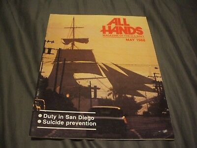 ALL HANDS NAVY/NAVAL/MILITARY Magazine - May 1988
