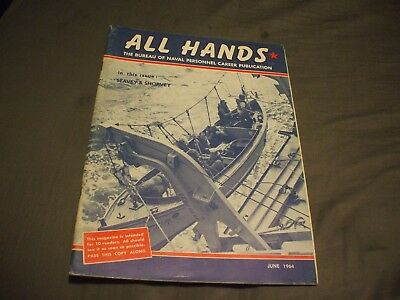 ALL HANDS NAVY/NAVAL/MILITARY Magazine - June 1964