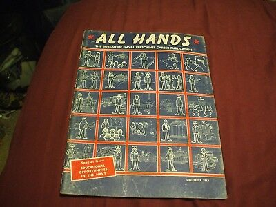 ALL HANDS NAVY/NAVAL/MILITARY Magazine - December 1967
