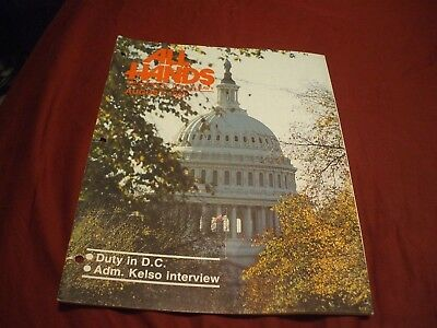 ALL HANDS NAVY/NAVAL/MILITARY Magazine - August 1987 - #1