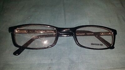 Rochester Optical Romco-5A Black Eyeglass Frame Spectacle 54 24 150 Optometry