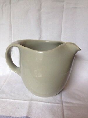 Vintage Russel Wright Pitcher Sterling China Mid-Century Modern Gray Excellent!