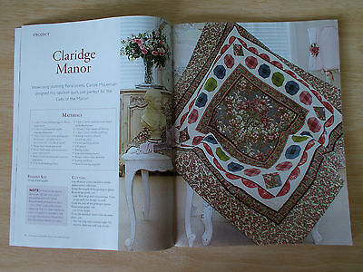 Stunning Country Craft Vol 24 #4~Koala Embroidery~Cross Stitch~Etui~Quilt~Runner