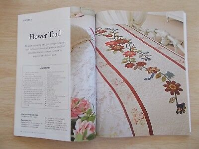 ACC&D Vol 22 #5~Quilts~Folk Art~Ribbon Embroidery~Beaded Bag~Runner~Cushions