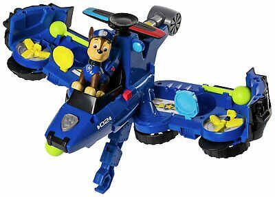 PAW Patrol Chase Flip & Fly 2 in 1 Transforming Vehicle 3+ Years