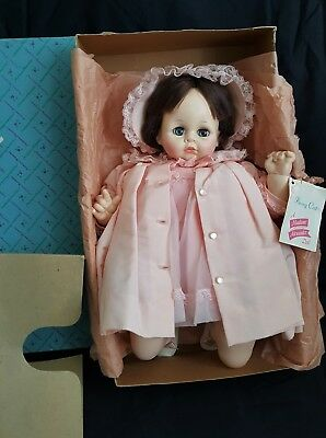 Vintage Madame Alexander Pussycat Baby Doll #5235 Pink Satin Outfit EXCELLENT