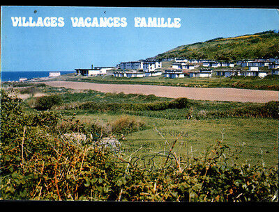 COLLEVILLE (14) VILLAS au VILLAGE DE VACANCES VVF en 1986